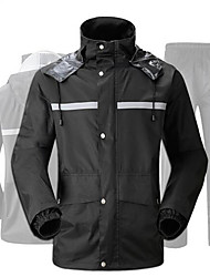 cheap -Raincoat Rain Pants Suit Adult Split Type Electric Vehicle Motorcycle Raincoat Outdoor Waterproof Reflective Fishing Clothes