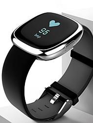 Per uomo Orologio sportivo Orologio elegante Smart watch Cinese Digitale LED Touchscreen Resistente all'acqua Monitoraggio frequenza