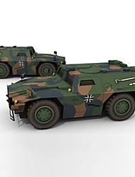 abordables -Coches de juguete Puzzles 3D Maqueta de Papel Juguetes Cuadrado Caballo Cuadriga Papel duro No Especificado Piezas