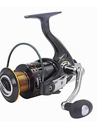 cheap -Fishing Reel Bearing Spinning Reel 5.2:1 Gear Ratio+13 Ball Bearings Hand Orientation Exchangable Sea Fishing Freshwater Fishing Trolling