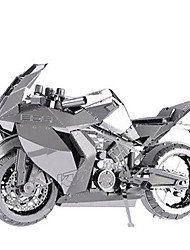 cheap -3D Puzzles Jigsaw Puzzle Metal Puzzles Moto 3D DIY Aluminium Metal Classic Motorcycle Kid's Adults' Girls' Boys' Unisex Gift