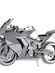 baratos -Quebra-Cabeças 3D Quebra-Cabeça Quebra-Cabeças de Metal Moto 3D Faça Você Mesmo Alumínio Metal Clássico Motocicletas Crianças Adulto Para