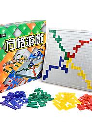 Недорогие -Настольная игра Шахматы Игрушки Квадратный Детские Куски