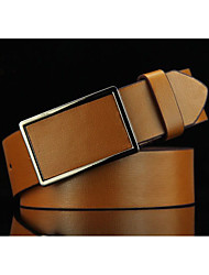 Menswear pedal buckle belt leisure smooth buckle belts restoring ancient ways of the ancients cowboy belts