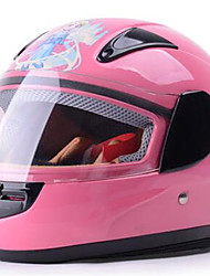 cheap -YEMA 203 Motorcycle Winter Children Helmet Cute Cartoon Boys And Girls With Warm Collar Four Seasons Helmet