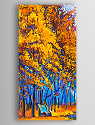 Hand-Painted  Impression Landscape  Oil Painting With Stretcher For Home Decoration Ready to Hang