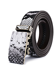 cheap -Men's Alloy Waist Belt,Gray Vintage Casual Animal Print Animal Pattern