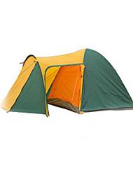 economico -3-4 persone Fasce Doppio Tenda da campeggio Tenda ripiegabile Tenere al caldo Anti-pioggia per Campeggio e hiking Altro Materiale CM
