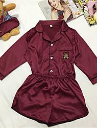 economico -stile da ragazza da donna pigiama. puro cotone vestito a due pezzi. pigiama