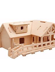 abordables -Puzzles 3D / Puzzle / Maquettes de Bois Avion / Bâtiment Célèbre / Maison A Faire Soi-Même En bois Classique Enfant Unisexe Cadeau