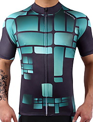 Cycling Jersey Men's Women's Short Sleeves Bike Jersey Fast Dry Reduces Chafing High Elasticity Lightweight Spandex 100% Polyester LYCRA®