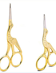 Nail Art DIY Scissors Nail Art Tool Accessory Golden Multifuntion Scissors  Makeup Cosmetic Nail Art DIY
