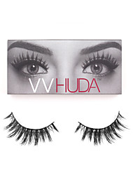 VVHUDA Mink Lashes 3D Mink False Eyelashes Long Fake Lashes Natural Lightweight Cross Handmade Women Makeup Cosmetic Tools Raquel
