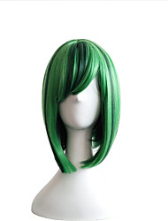cheap -New Color BOBO Head Wig Green Pick Wave Wave Short Hair Female Cosplay Animation Wig 12inch