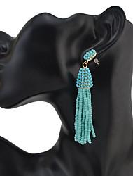 Women's Drop Earrings JewelryUnique Design Dangling Style Tassel Friendship Classic Elegant Durable Oversized Bohemian Punk Personalized