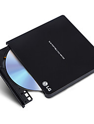LG 8x USB2.0 Interface External DVD Drive Burner Windows 8 And MAC Operating System GP65NB60