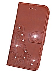 cheap -Case for Sony Xperia L1 XA1 Ultra Wallet Rhinestone Embossed Pattern Case for Sony XA1 XA Ultra XA X performance XZ Premium X XZ X COMPACT Z5 Z4 Z3 Z2