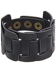 cheap -Men's Women's Leather Bracelet Jewelry Natural Friendship Movie Jewelry Handmade Hip-Hop Gothic Rock Punk Genuine Leather Circle Geometric