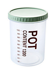 900ml Plastic Food Storage