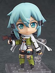 cheap -Anime Action Figures Inspired by Sword Art Online Cosplay PVC 10cm CM Model Toys Doll Toy Men's Women's