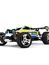 abordables -Coche de radiocontrol  WL Toys A959-B 2.4G Off Road Car Alta Velocidad 4WD Drift Car Buggy Todoterreno Carro de Carreras 1:18 Brush