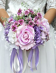 "cheap -Wedding Flowers Bouquets Wedding Polyester 9.84""(Approx.25cm)"