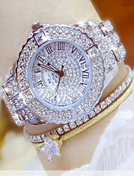 Women's Wrist watch Bracelet Watch Unique Creative Watch Casual Watch Simulated Diamond Watch Pave Watch Dress Watch Fashion Watch Chinese