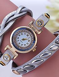Women's Bracelet Watch Digital Metal Band Black Silver Purple Navy