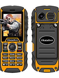cheap -Huadoo H1 IP68 waterproof mobile phone FM flashlight MP3 support swimming shockproof dustproof outdoor rugged cell phone P013