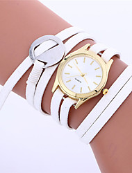 Clock Women's Watches Newly Fashion Leather Bracelet Weaving Best Wrist Watch Generously High Quality Charming Nurse Watch M/4