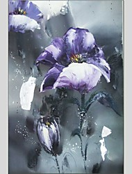 Oil Paintings Floral Style Canvas Material With Wooden Stretcher Ready To Hang Size 60*90 CM .