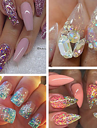 cheap -40pcs/set Acrylic Powder / Nail Glitter / Glitter Powder Elegant & Luxurious / Sparkle & Shine Nail Art Design
