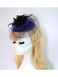 cheap -Resin Cotton Fascinators Flowers Hats Headpiece Classical Feminine Style
