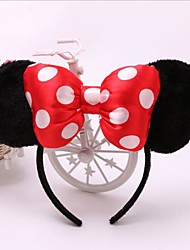 cheap -1pc Lovely Girls Bows Knot Ears Baby Hair Accessories Headband Kids Boys Birthday Party Hairbands