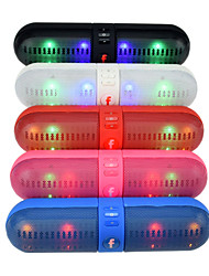 F808 Capsule Pills LED HY-BT808L Bluetooth Speakers Dual Speakers Single Diaphragm
