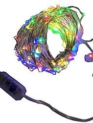 1W Verlichtingsslingers 200 lm <5V V 5 m 50 leds Warm Wit Wit Rood Geel Blauw Groen Paars Roze Meerkleurig
