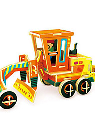 cheap -DIY KIT 3D Puzzles Jigsaw Puzzle Toy Cars Construction Vehicle Toys Truck 3D Not Specified Pieces