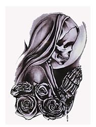 Недорогие -Тату с тотемом Женский Мужской Подростки Вспышка татуировки Временные татуировки
