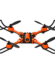 abordables -RC Drone YiZHAN i5hw 4 canaux 6 Axes 2.4G Avec l'appareil photo 0.3MP HD 0.3 Quadri rotor RC Lampe LED Flotter Câble USB Tournevis Manuel