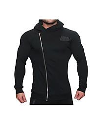 Pantaloni da corsa Traspirabilità Comodo Casual Tuta da ginnastica per Corsa Esercizi di fitness Cotone Taglia piccola Nero M L XL XXL