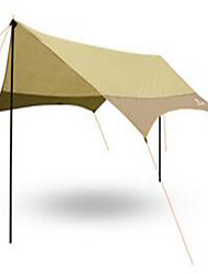 economico -3-4 persone Tappetino da campeggio Parasole Tenda da campeggio Tenda ripiegabile Resistente ai raggi UV per Campeggio e hiking Altro