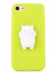 Taske til iphone 7 plus 7 squishy diy stress relief tilfælde bag cover case sød 3d tegneserie blød tpu sag til iphone 6 6s 6 plus 6s plus