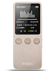 economico -MP3Player8GB 32GB Jack da 3,5 mm Scheda Micro SD 64GBdigital music playerPulsante
