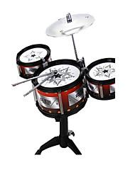 economico -Giocattoli musicali Batteria Strumenti giocattoli Gioco educativo Giocattoli Simulazione Strumenti musicali Batteria Jazz Drum Pezzi Per