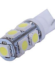 1.5w dc12v t10 5led smd5050 luce della coda luce della porta di targa luce bianca blu ghiaccio bule rosso rosa verde giallo 10pcs
