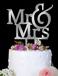 cheap -Cake Topper Wedding Birthday High Quality Plastic Birthday Party/Evening With PVC Bag