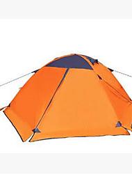 abordables -3-4 personnes Tente Tente de camping Tente pliable Garder au chaud pour Camping / Randonnée Autre matériel CM