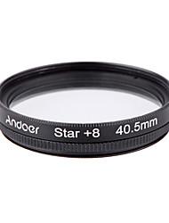 Andoer 40.5mm Filter Set UV  CPL  Star 8-Point Filter Kit with Case for Canon Nikon Sony DSLR Camera Lens