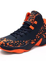 Недорогие -Муж. Искусственная кожа Осень / Зима Удобная обувь Спортивная обувь Для баскетбола Темно-синий / Черно-белый / Черный / Красный