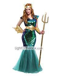 Regina Fiabe Dea Cosplay Costumi Cosplay Vestito da Serata Elegante Donna Unisex Halloween Carnevale Feste/vacanze Costumi Halloween
